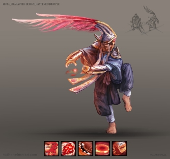MOBA character design