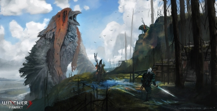 Geralt vs. Raven Clan
