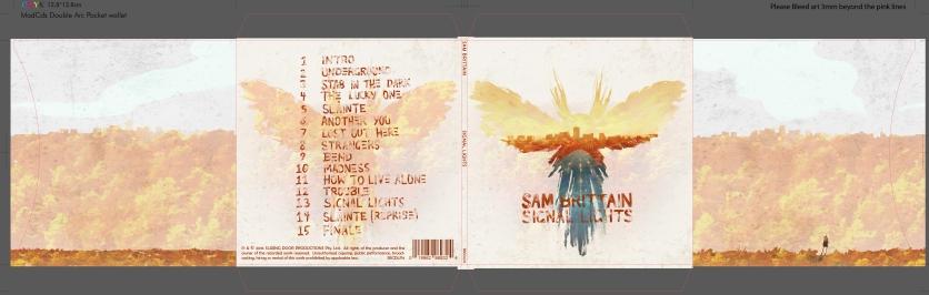 Sam Brittain Signal Lights Album Spread